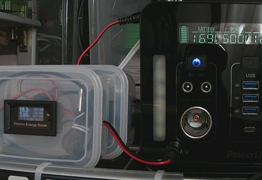 [防災] ポータブル電源(Power Link MaxPower PL500J)にソーラーパネル(100W)をつないで充電してみる
