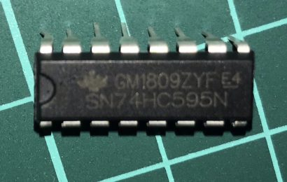 [ラズパイ] シフトレジスタ(74HC595)を使ってみる
