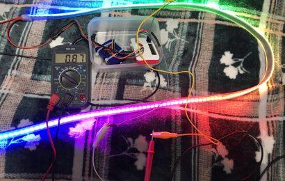 [ラズパイ] WS2812B LEDテープ(NeoPixel RGB)を使ってみる