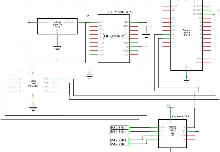 [Arduino][ESP8266] クランプ式電流センサー(SCT013-030)で家の消費電力を計測してみる Arduino編